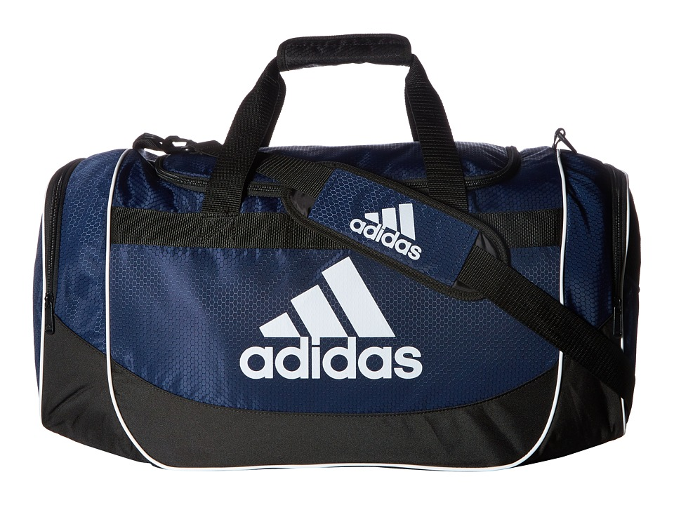 adidas - Defense Medium Duffel (Collegiate Navy) Duffel Bags