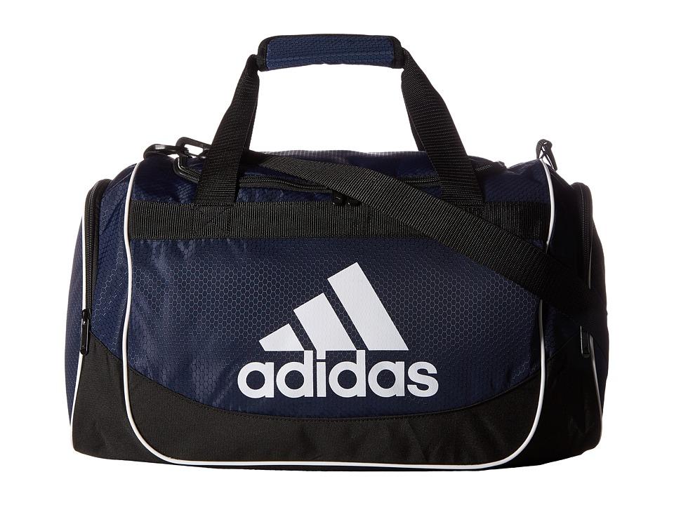 adidas - Defense Small Duffel (Collegiate Navy 2) Bags