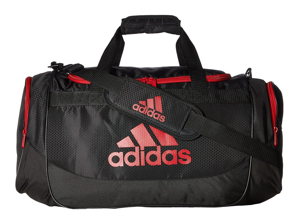 adidas - Defense Medium Duffel (Black/University Red) Duffel Bags