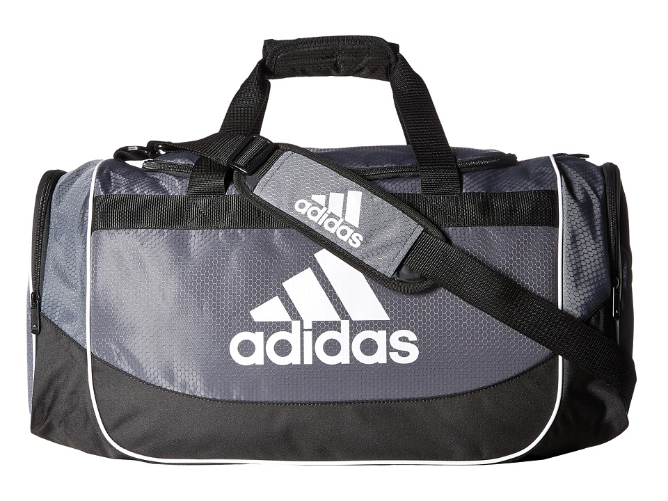 adidas - Defense Medium Duffel (Lead) Duffel Bags