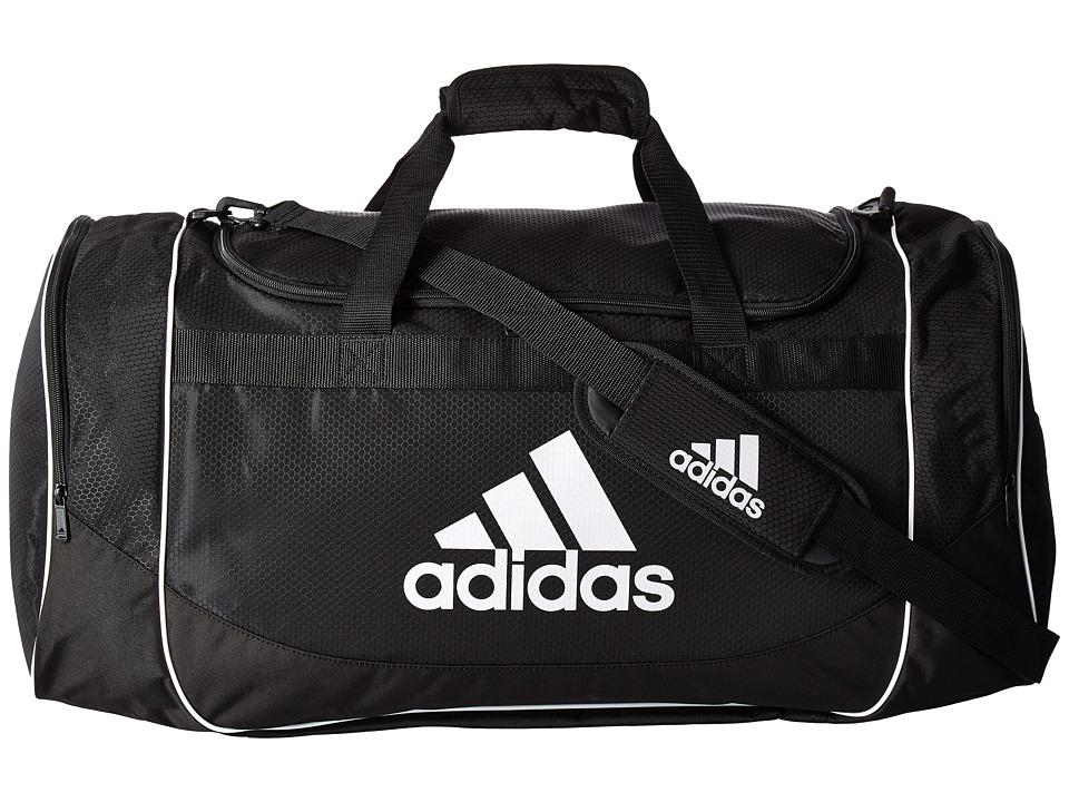 adidas - Defense Large Duffel (Black) Bags