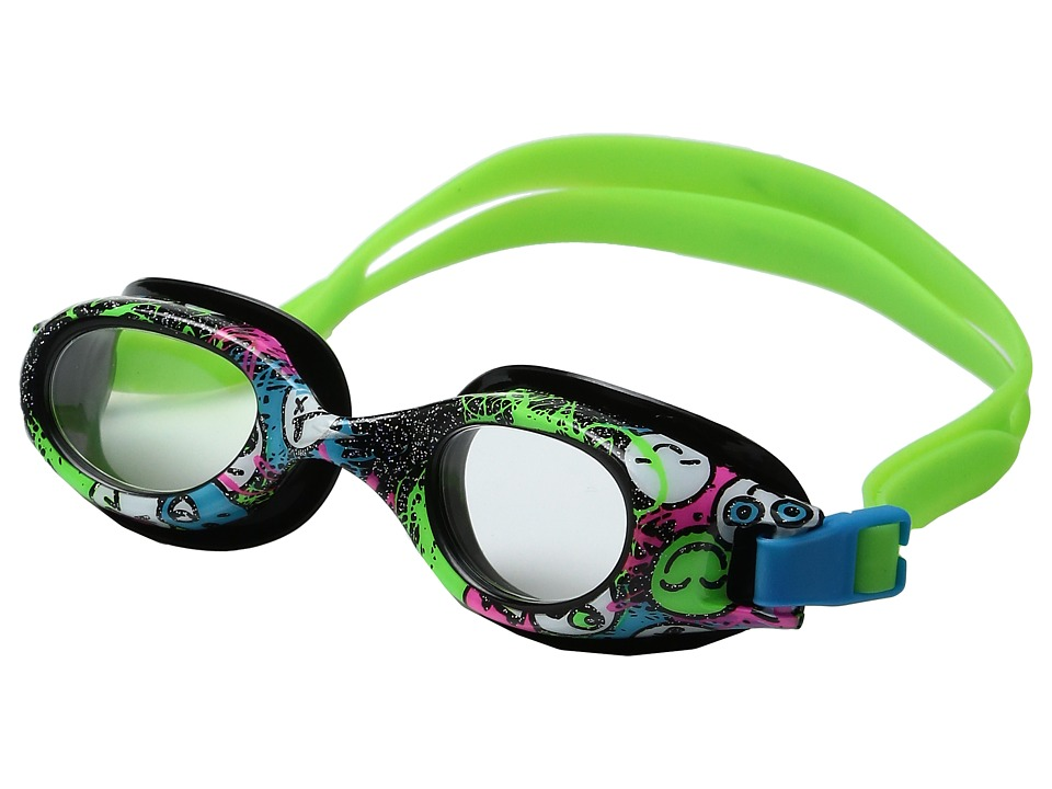 Speedo - Jr. Hydrospex(r) Print Goggle (Black/Black) Water Goggles
