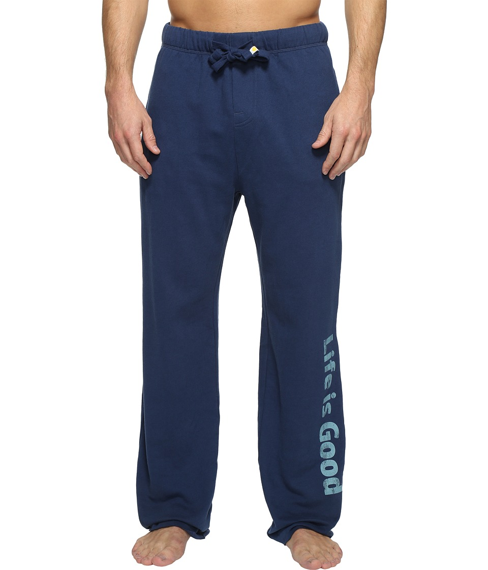 Life is Good - Life is Good(r) Bold Lounge Pant (Darkest Blue) Men's Casual Pants