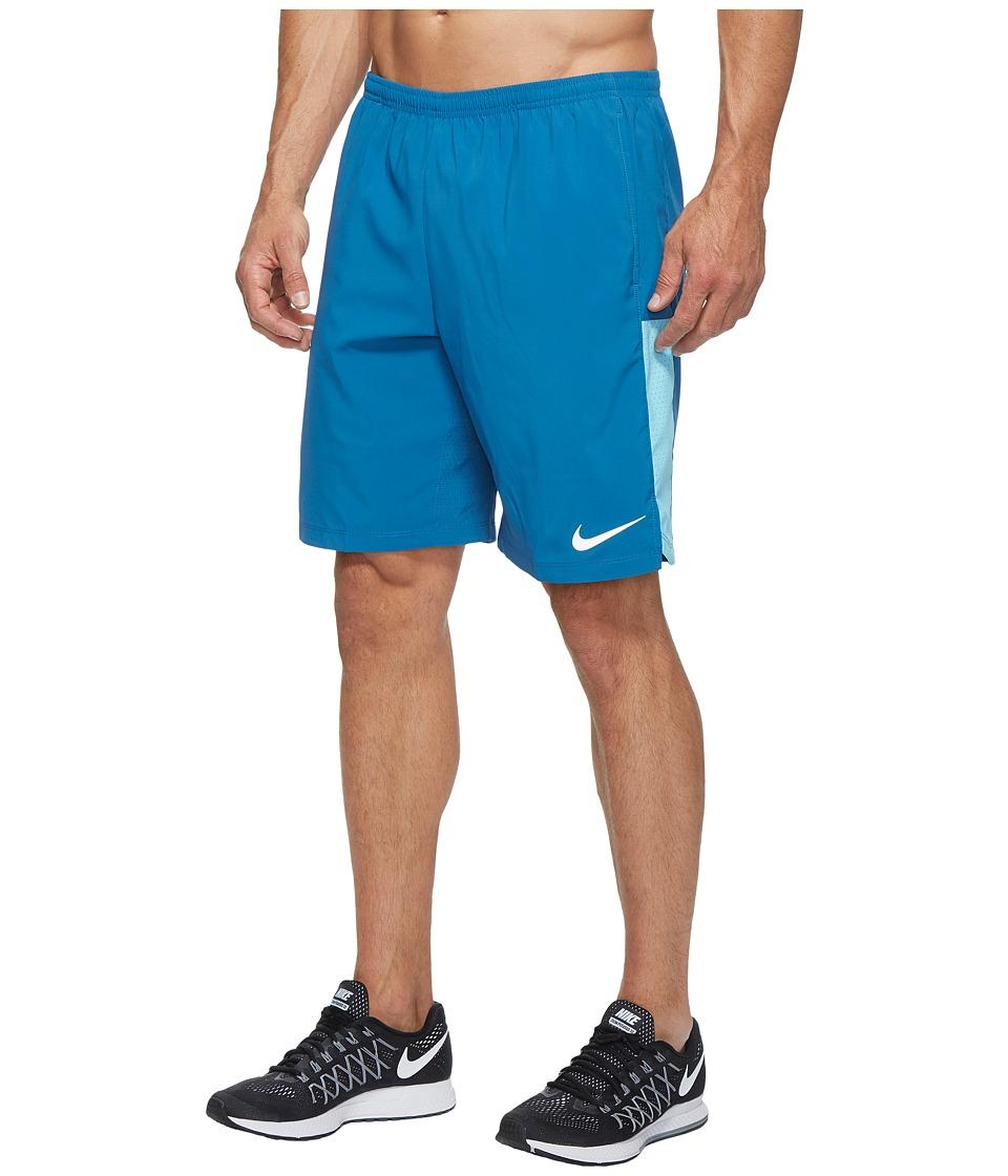 Nike - Flex 9'' Running Short (Industrial Blue/Vivid Sky) Men's Shorts