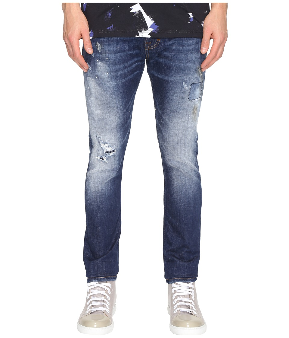 Vivienne Westwood - Anglomania Lee Don Karnage Jeans in Blue Denim (Blue Denim) Men's Jeans