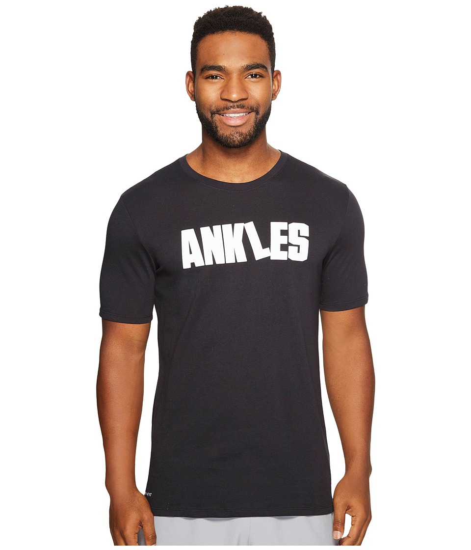 Nike - Dry Ankles T-Shirt (Black/Black) Men's T Shirt
