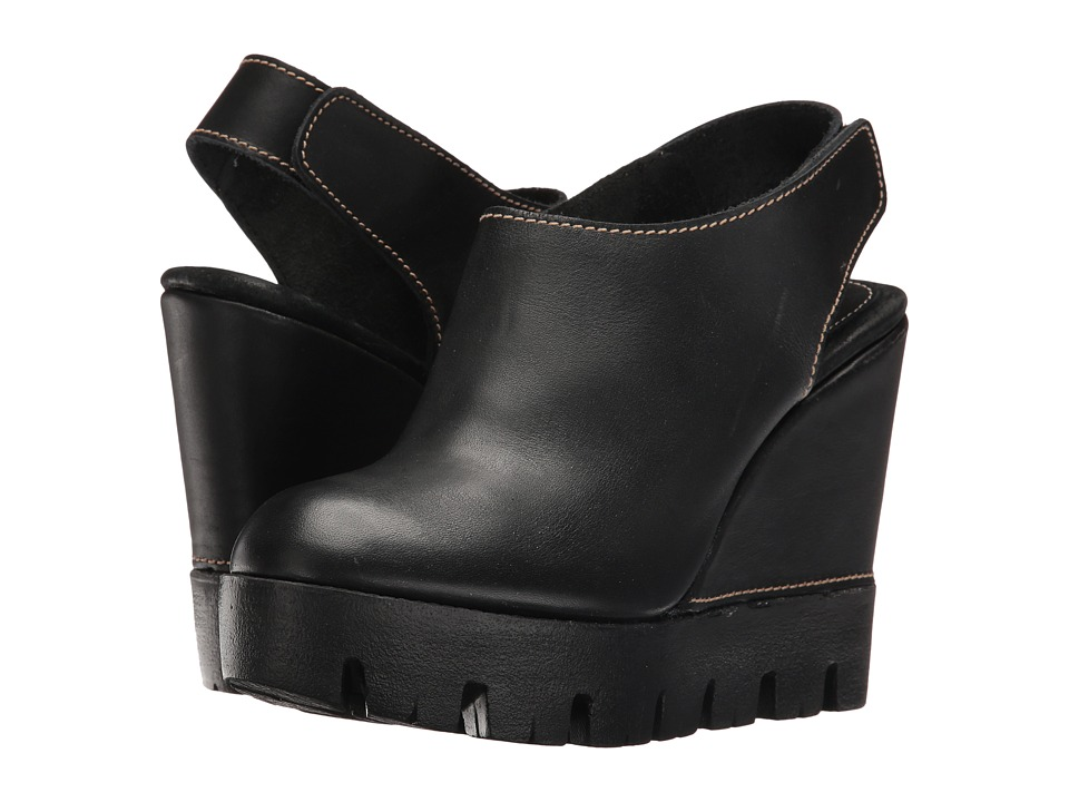 Sbicca - Catalano (Black) Women's Wedge Shoes