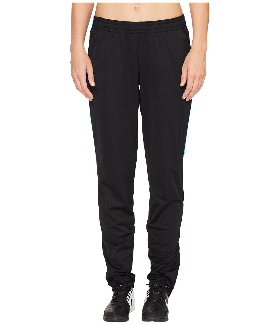 Nike - Academy Knit Soccer Pant (Black/Chlorine Blue/Chlorine Blue) Women's Casual Pants
