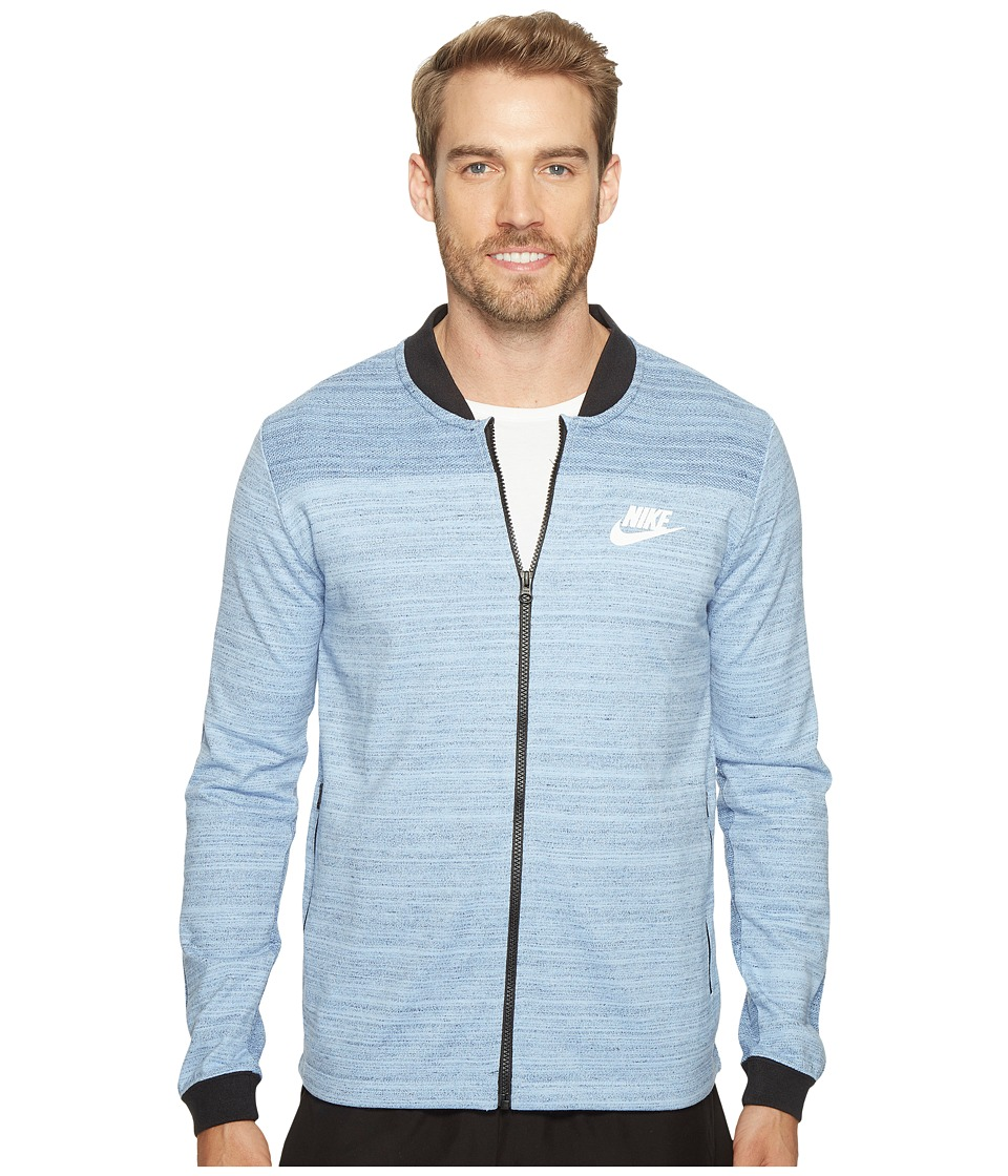 Nike Sportswear Advance 15 Jacket (Aluminum/Heather/White) Men