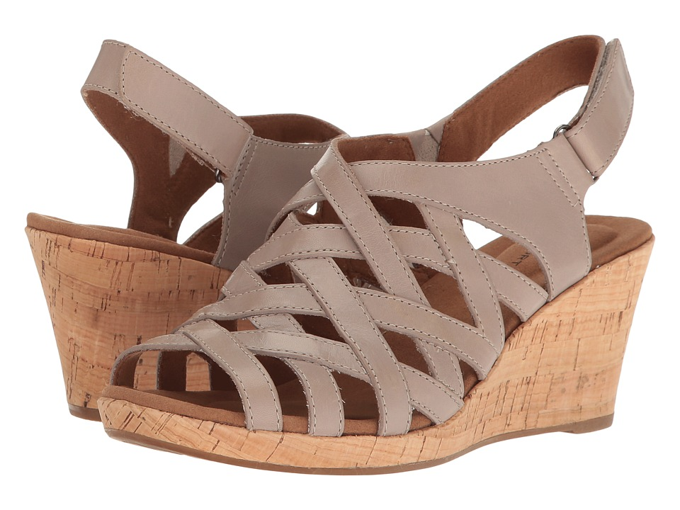 Rockport Briah Woven (Taupe Nubuck) Women