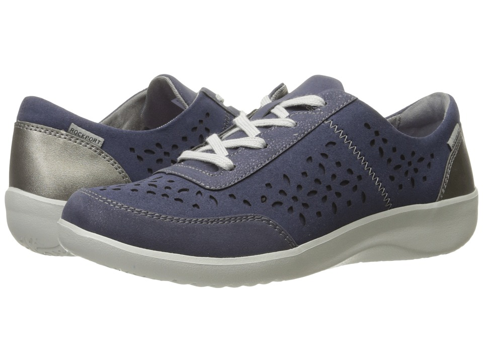 Rockport - Emalyn Tie (Blue) Women's Shoes