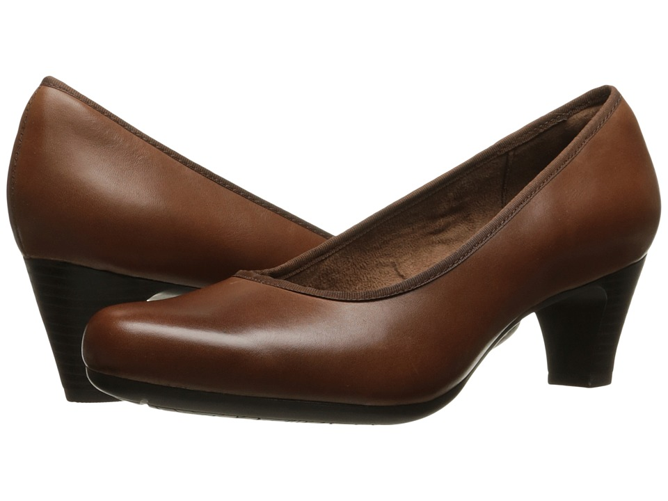 Rockport Hezra Pump (Almond Leather) Women
