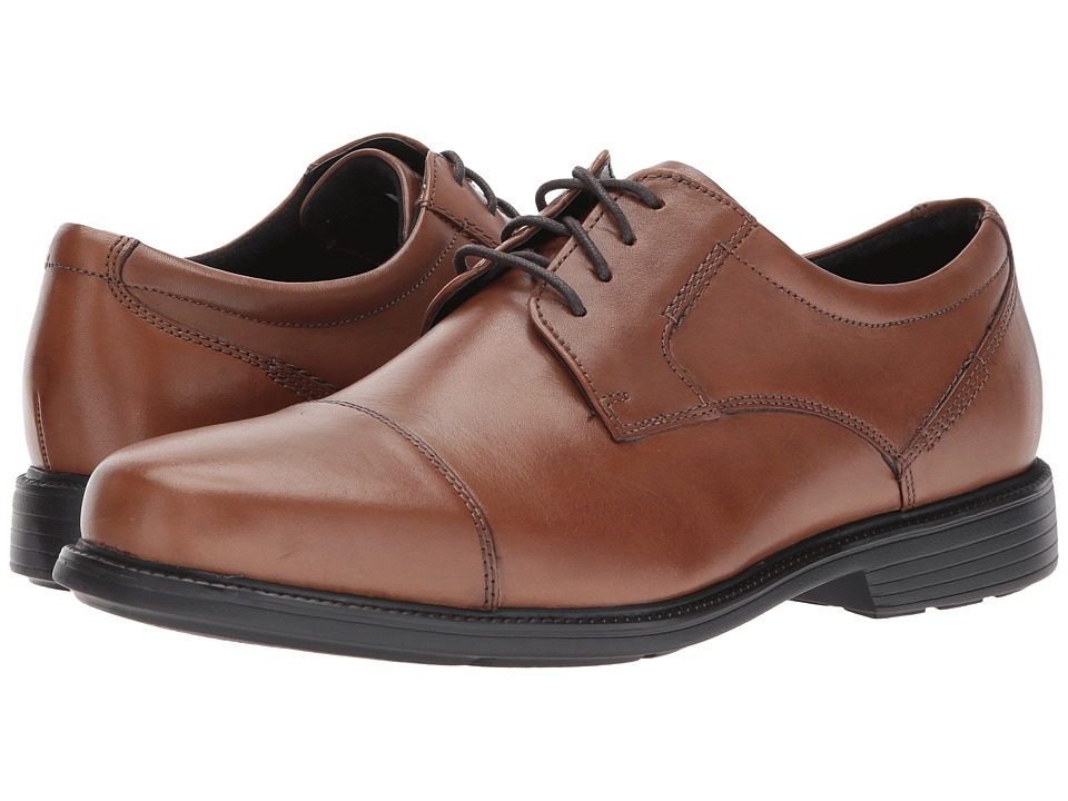Rockport - Charles Road Cap Toe Oxford (Truffle Tan) Men's Lace up casual Shoes