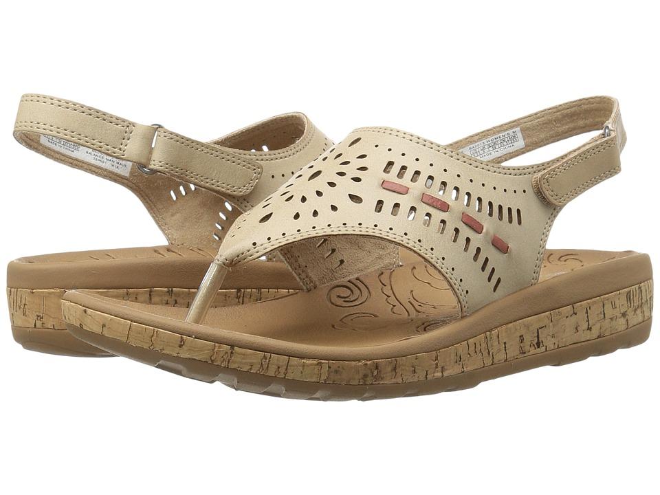 Rockport - Keona Perf Sling (Natural Smooth) Women's Sling Back Shoes
