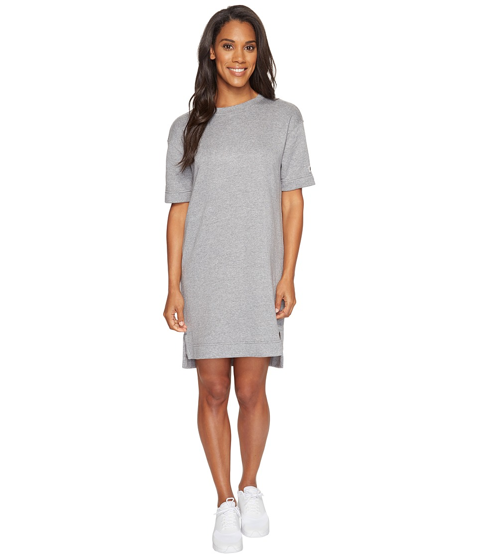 Nike - Sportswear Modern Dress (Carbon Heather/Dark Grey) Women's Dress
