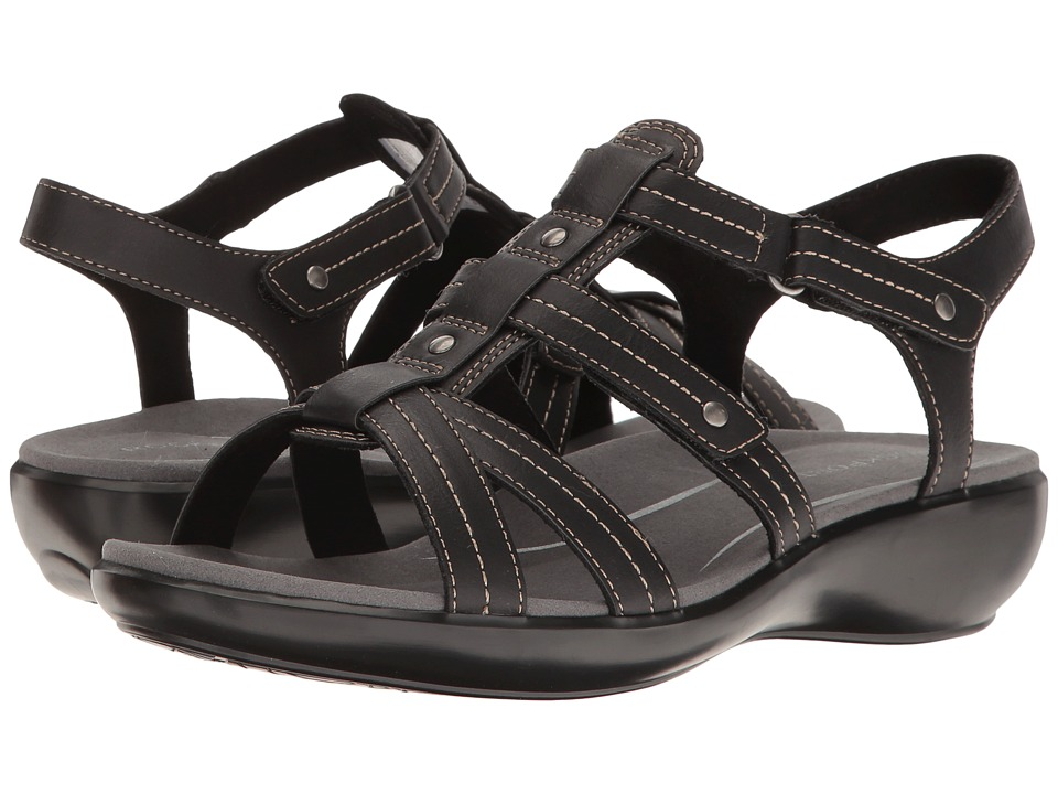 Rockport - Rozelle Gladiator (Black Smooth) Women's Shoes
