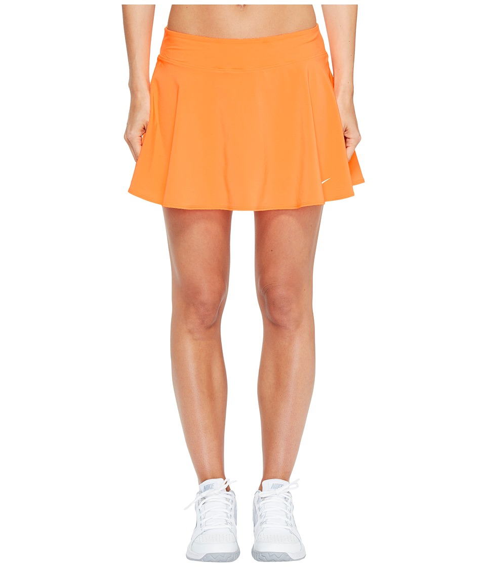 Nike - Court Tennis Skirt (Tart/White) Women's Skort
