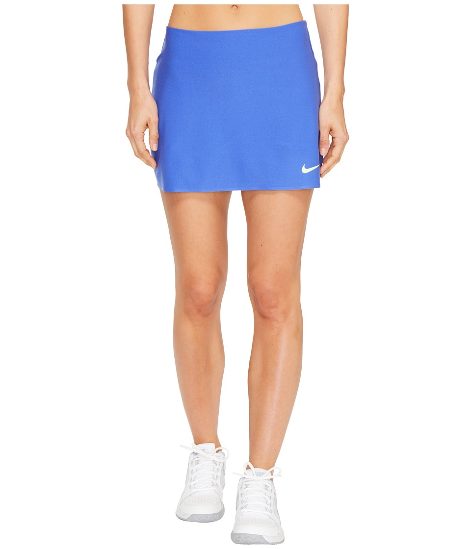 Nike - Court Power Spin Tennis Skirt (Paramount Blue/Ghost Green) Women's Skort