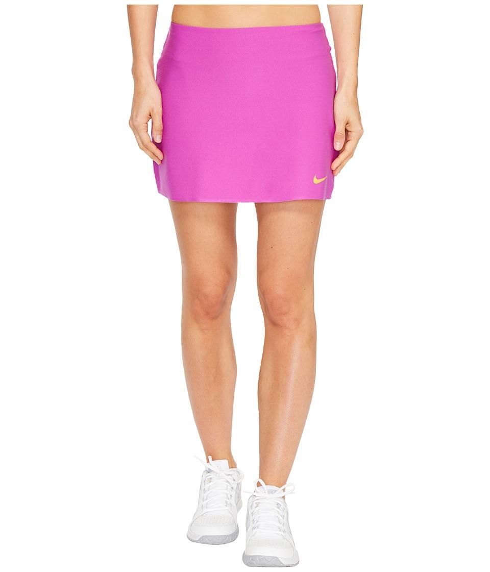 Nike - Court Power Spin Tennis Skirt (Vivid Purple/Tart) Women's Skort