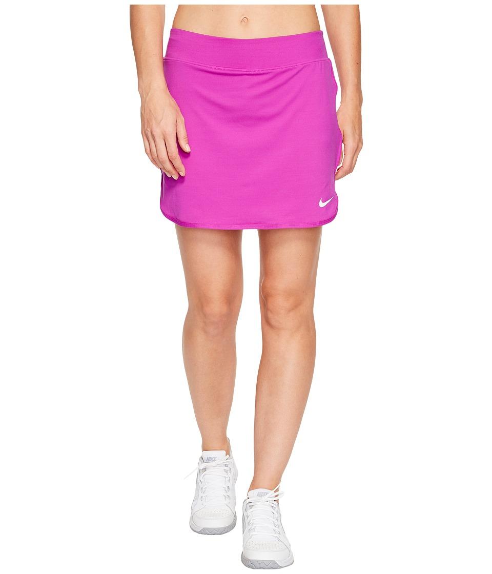 Nike Court Pure 17 Tennis Skirt (Vivid Purple/White) Women