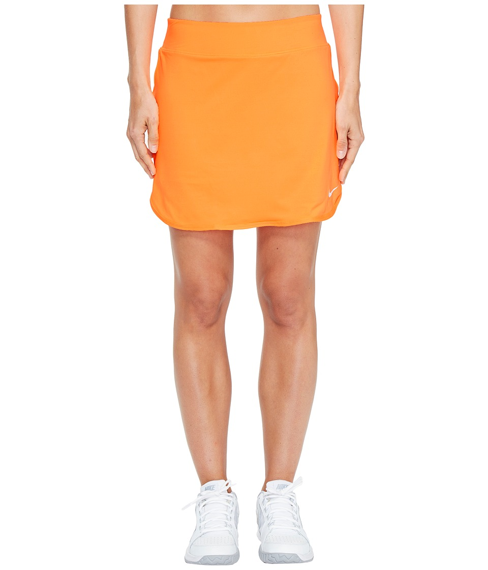 Nike - Court Pure 17 Tennis Skirt (Tart/White) Women's Skort
