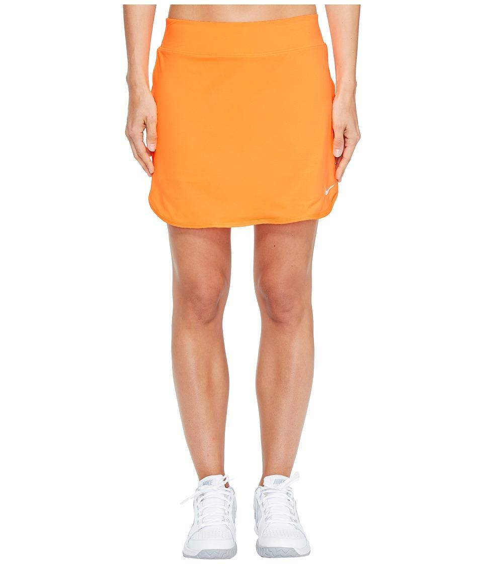 Nike Court Pure 17 Tennis Skirt (Tart/White) Women