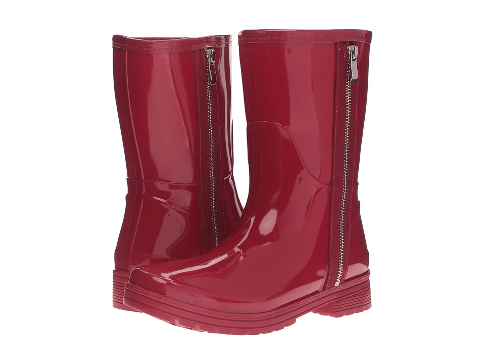 Kenneth Cole Unlisted Rain Zip (Cherry Red) Women