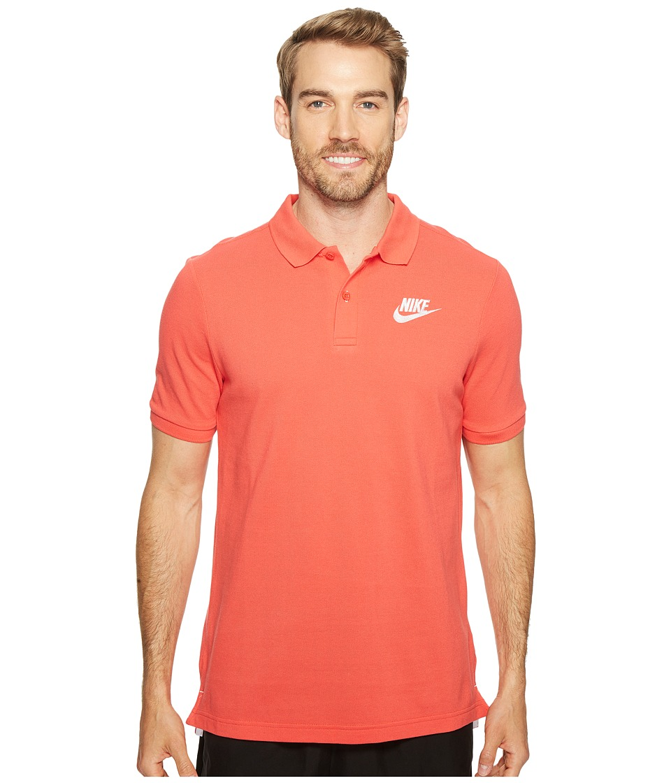 Nike - Matchup Polo (Track Red/White) Men's Clothing