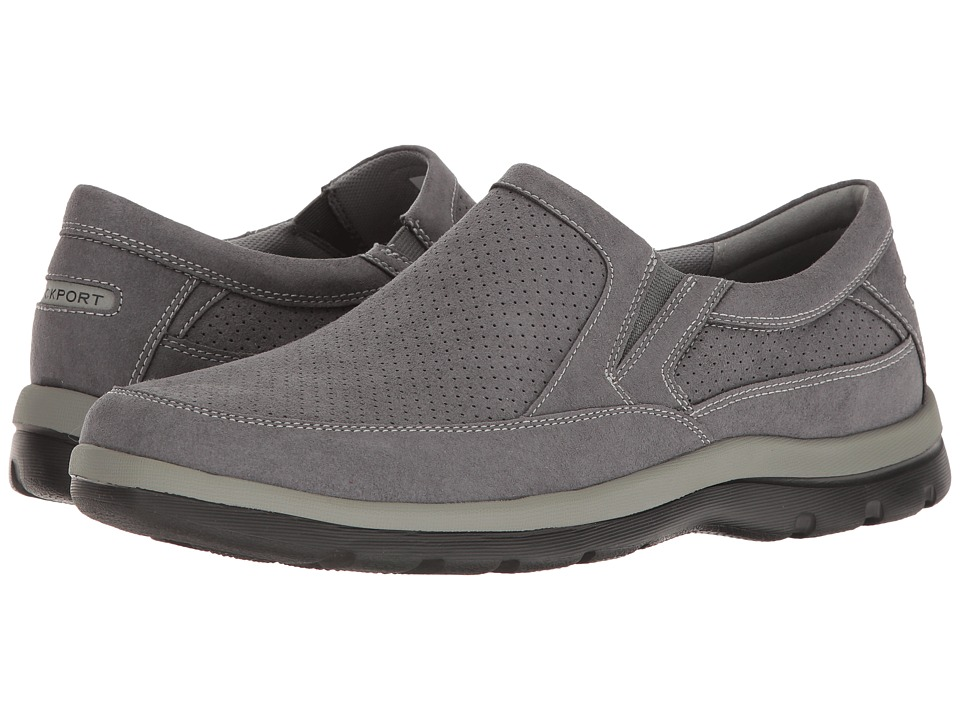 Rockport - Get Your Kicks Perfed Slip-On (Castlerock) Men's Shoes