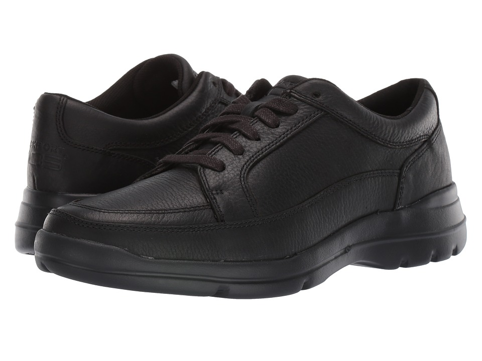 Rockport - Junction Point Lace To Toe (Black) Men's Shoes