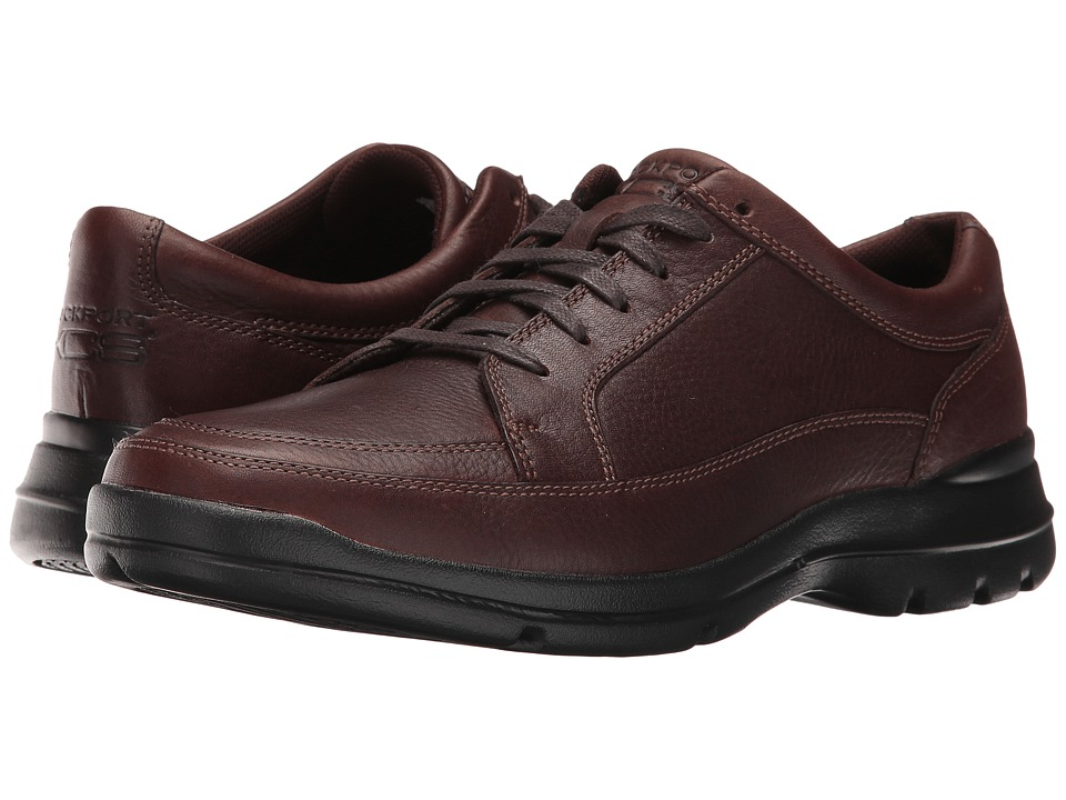 Rockport - Junction Point Lace To Toe (Chocolate) Men's Shoes