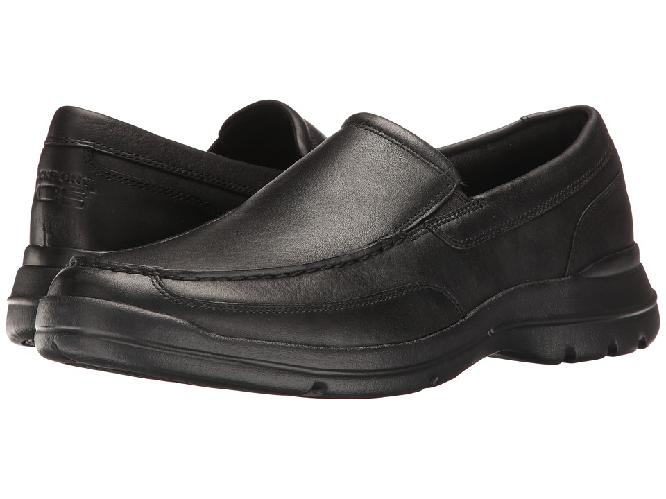 Rockport - Junction Point Slip-On (Black) Men's Shoes