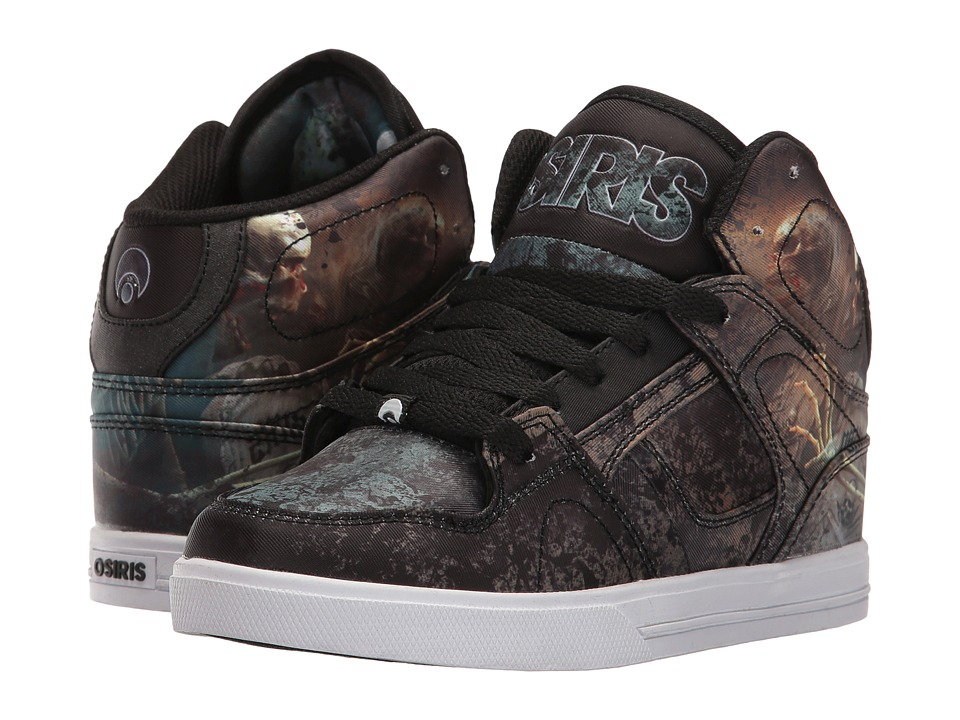Osiris - NYC83 VLC (Little Kid/Big Kid) (Huit/Skull/Army) Men's Skate Shoes