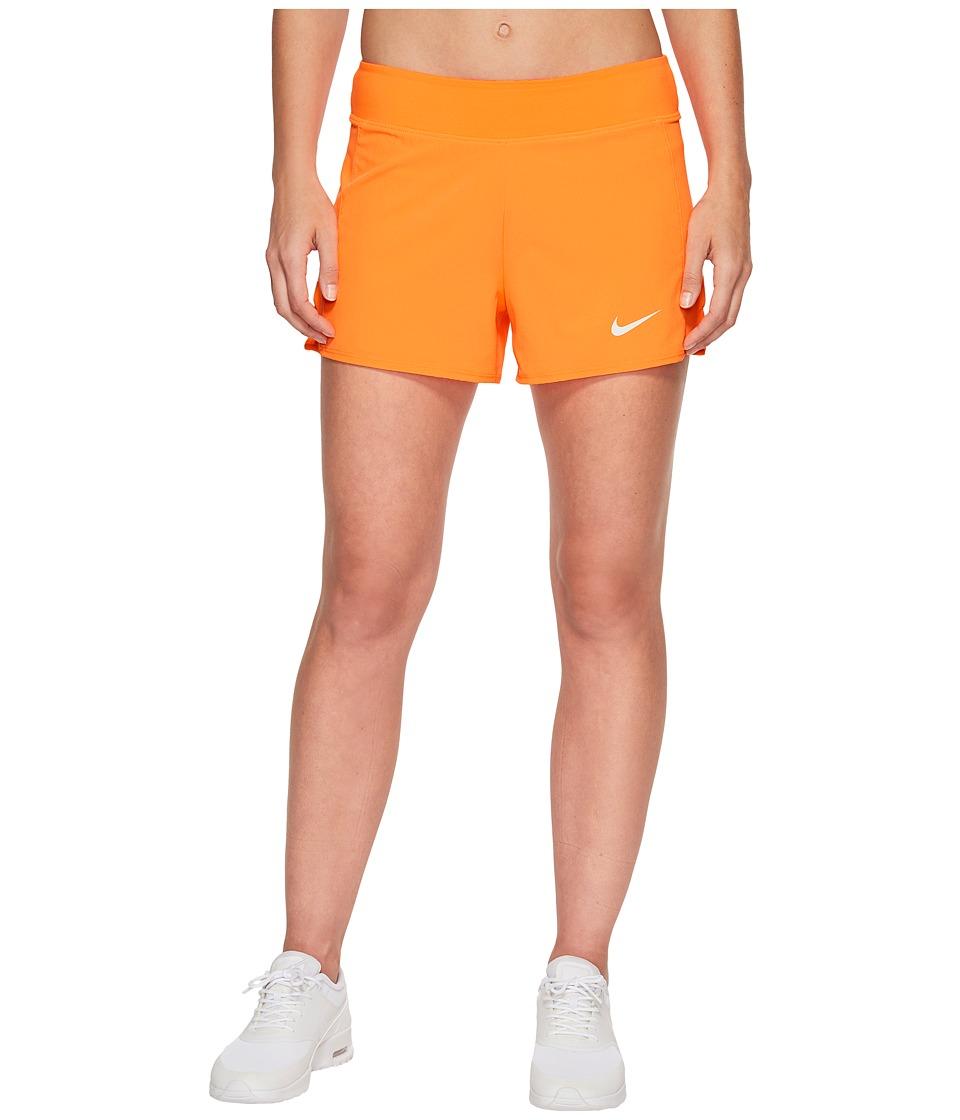 Nike Court Flex Pure Tennis Short (Tart/Tart/White/White) Women