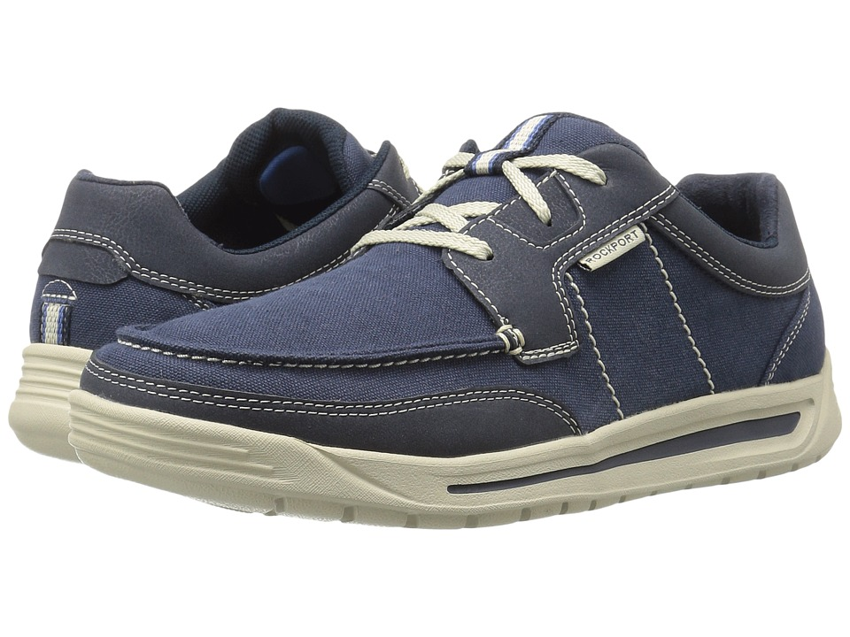 Rockport - Randle Moc Toe (Blue) Men's Shoes