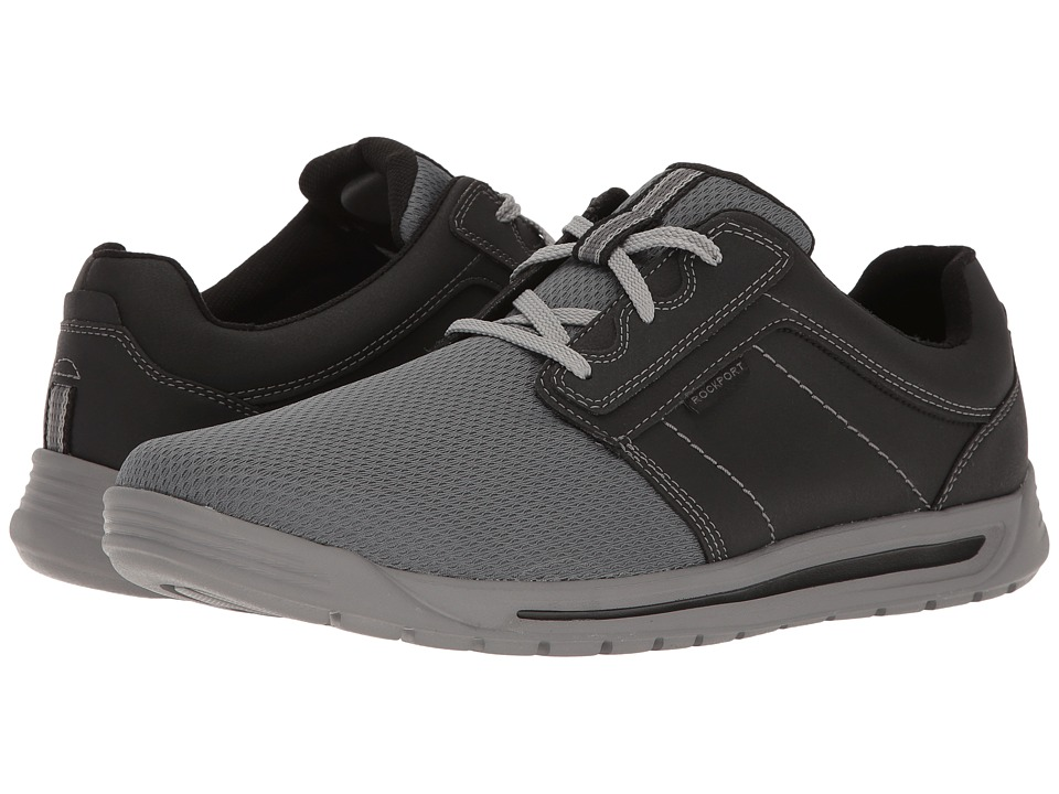 Rockport - Randle Plain Toe Sneaker (Black) Men's Shoes