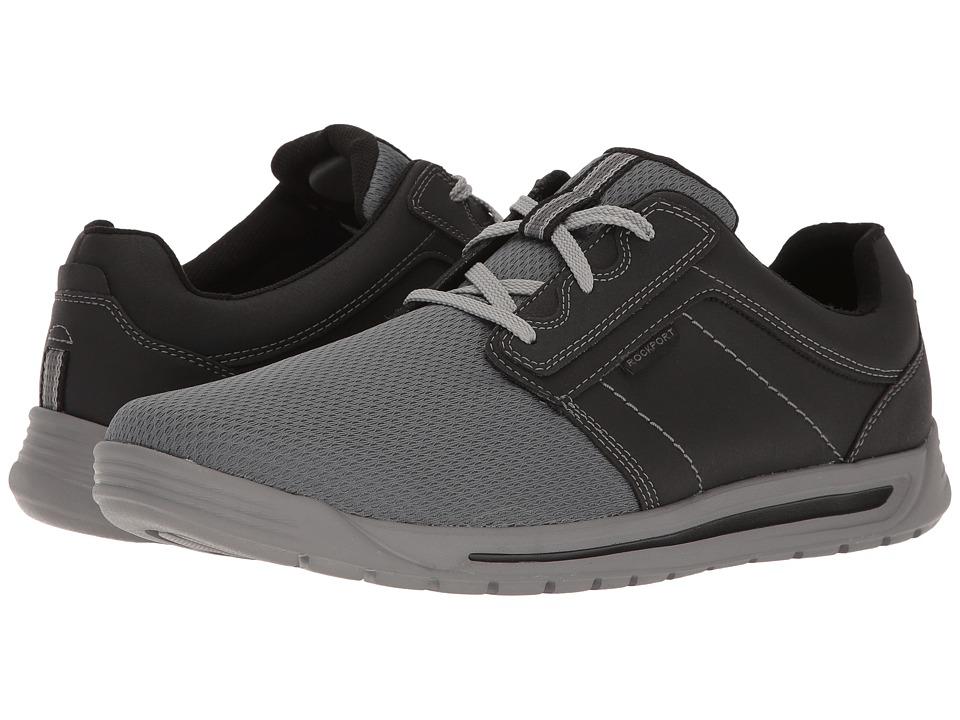 Rockport Randle Plain Toe Sneaker (Black) Men