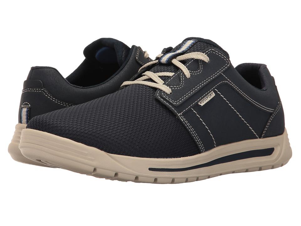 Rockport - Randle Plain Toe Sneaker (Blue) Men's Shoes