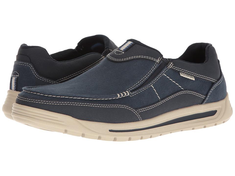 Rockport - Randle Slip-On (Blue) Men's Shoes