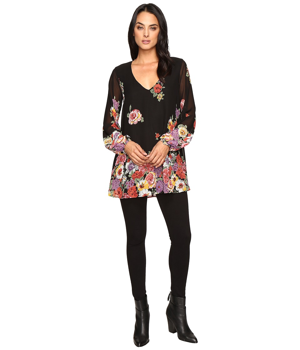 Show Me Your Mumu Donna Michelle Tunic (Falling Florals) Women's Blouse