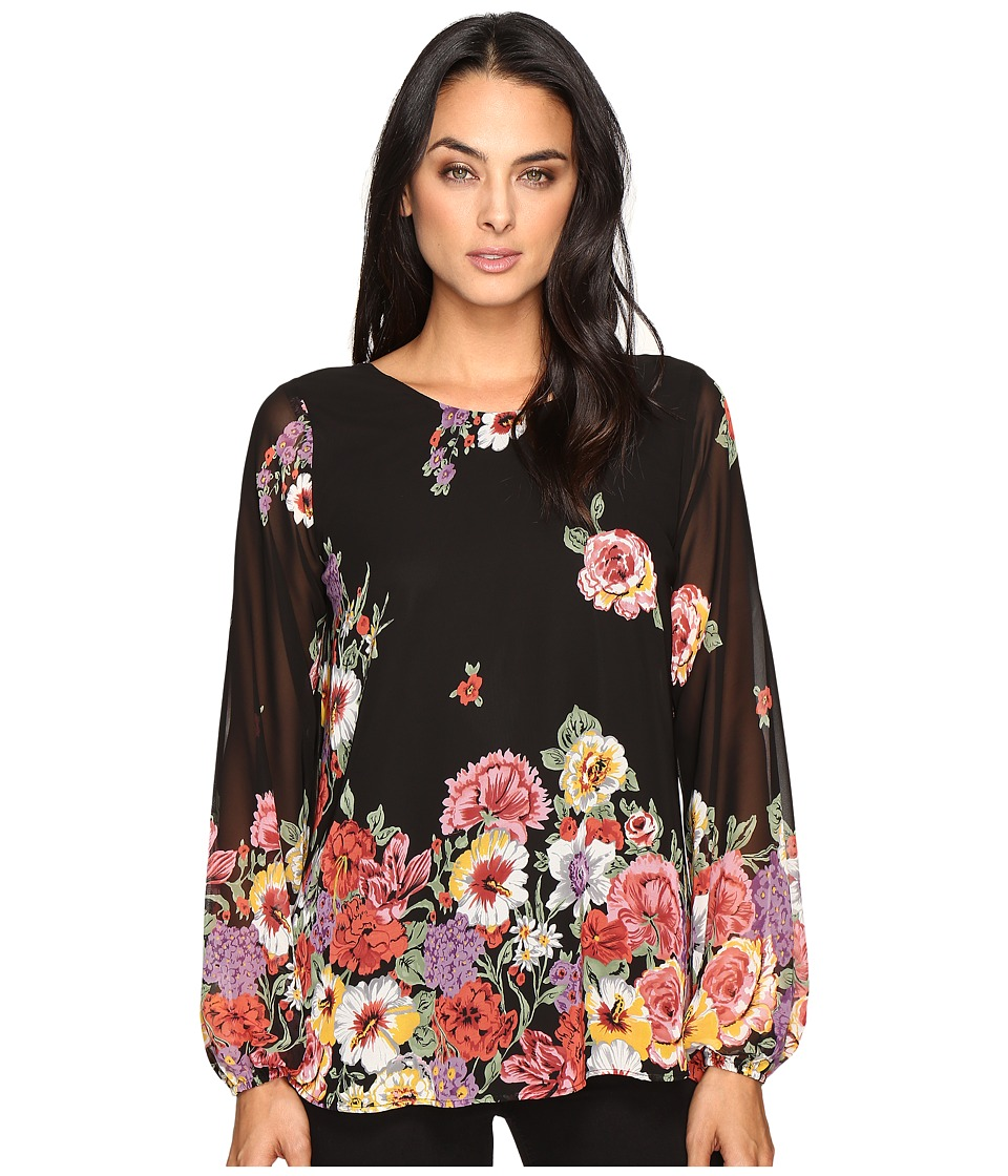 Show Me Your Mumu - Jade Blouse (Falling Florals) Women's Blouse