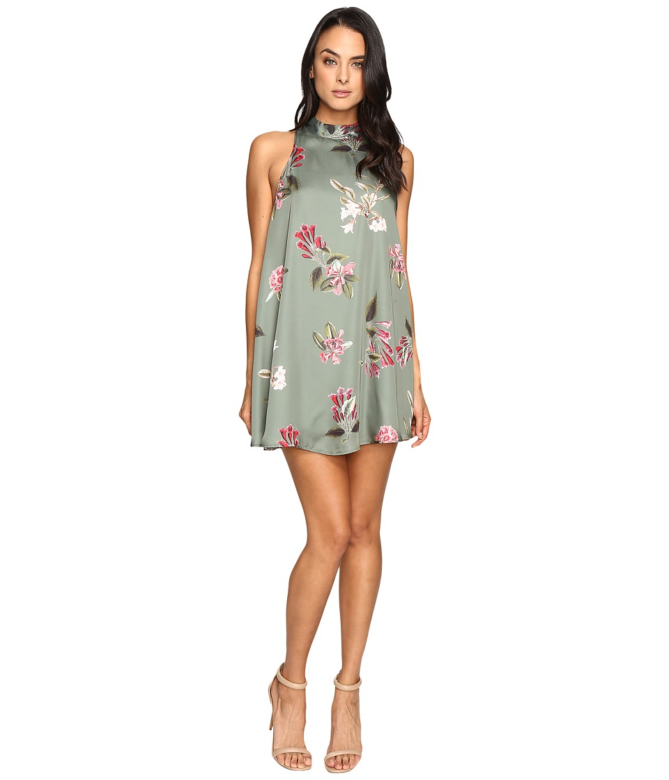 Show Me Your Mumu - V-Right Back Mini Dress (Laura Flora) Women's Dress