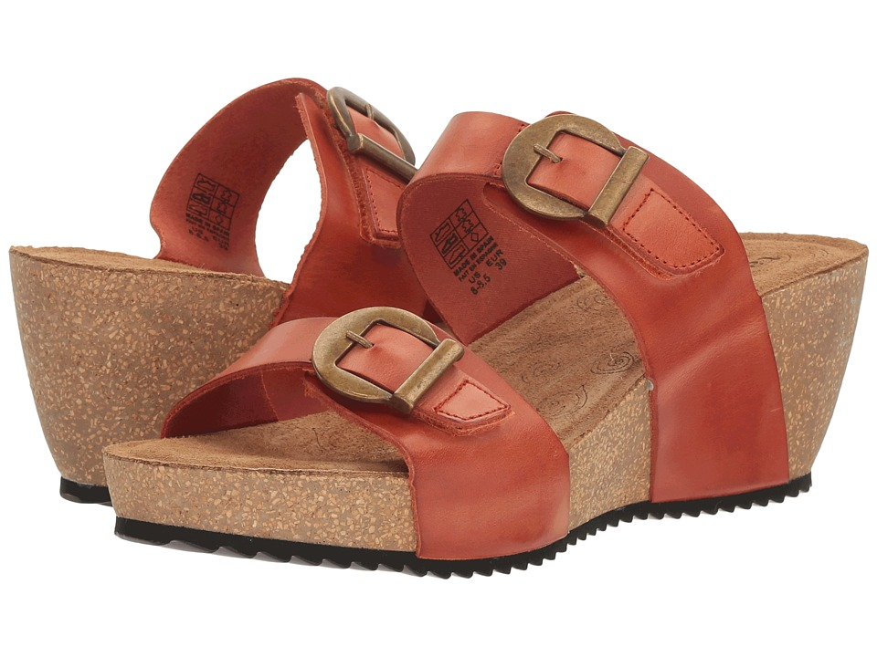 Taos Footwear - Anna (Burnt Orange) Women's Shoes
