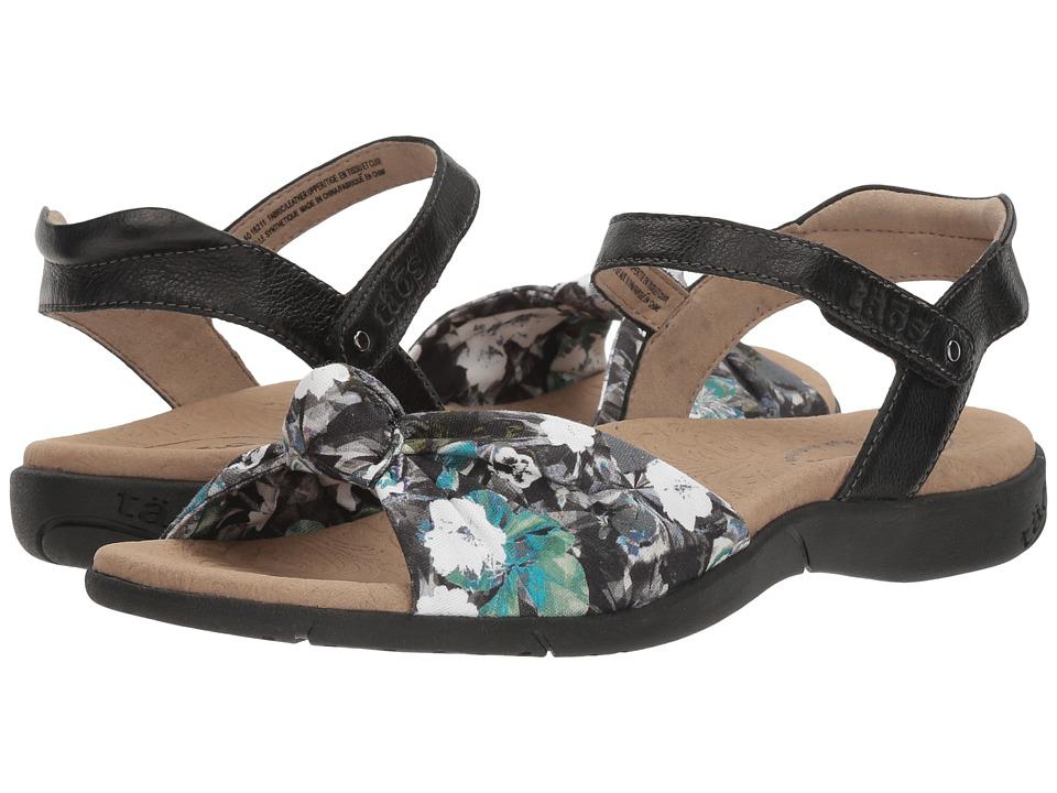 Taos Footwear - Knotty (Black Floral Multi) Women's Shoes