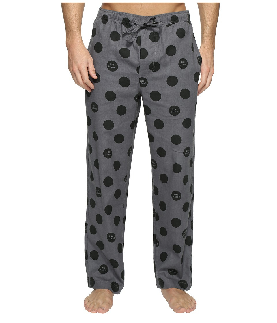 Life is Good - Classic Sleep Pants (Slate Gray) Men's Pajama