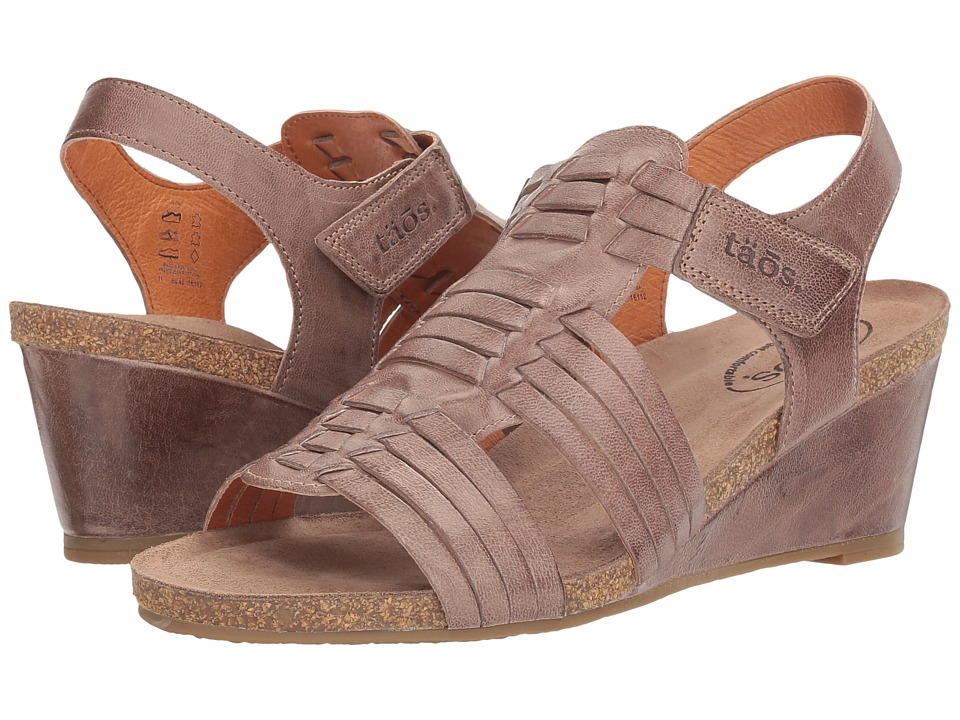 Taos Footwear - Tradition (Dark Taupe) Women's Shoes