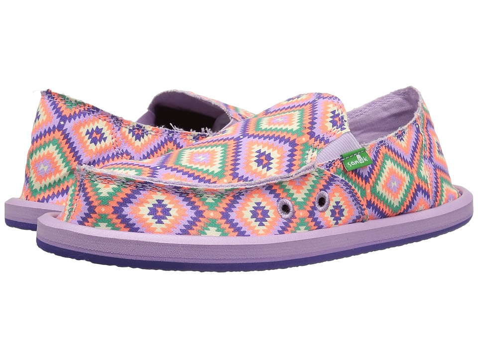Sanuk Kids - Donna (Little Kid/Big Kid) (The Ranch Liberty) Girls Shoes