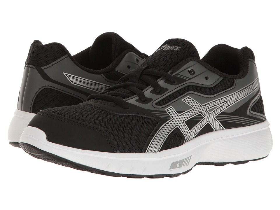 ASICS - Stormer (Black/Silver/White) Women's Shoes