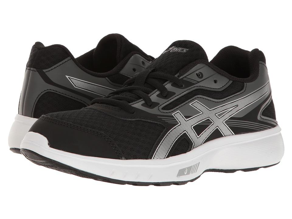 ASICS - Stormer (Black/Silver/White) Women's Shoes