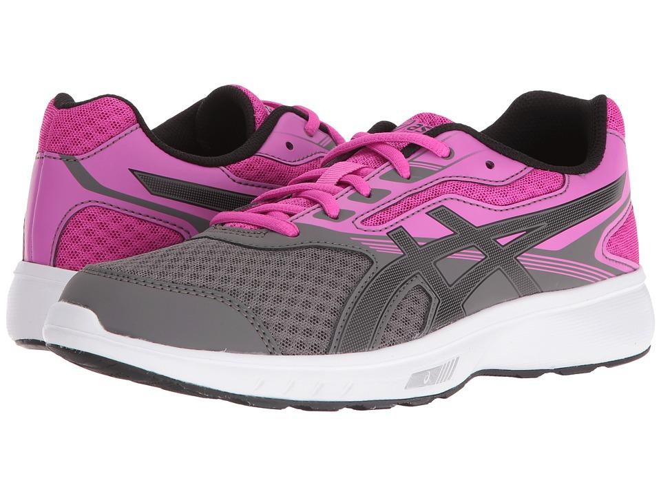 ASICS - Stormer (Carbon/Black/Pink Glow) Women's Shoes